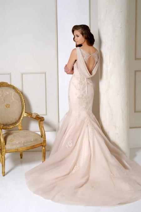 Back of 2512 Wedding Dress - Benjamin Roberts 2015 Bridal Collection