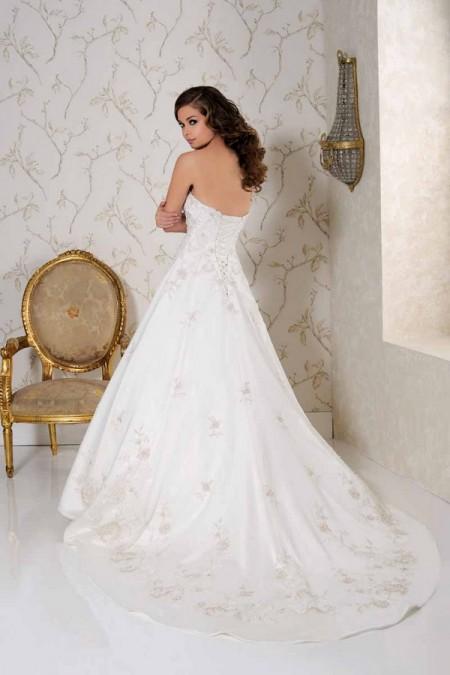 Back of 2513 Wedding Dress - Benjamin Roberts 2015 Bridal Collection