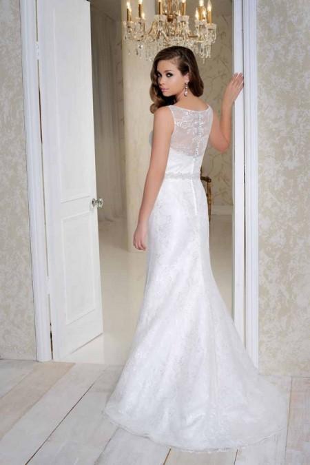 Back of 2514 Wedding Dress - Benjamin Roberts 2015 Bridal Collection