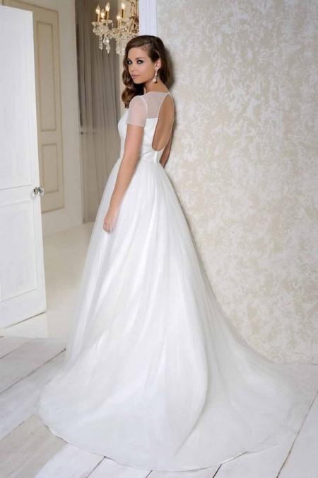 Back of 2517 Wedding Dress - Benjamin Roberts 2015 Bridal Collection