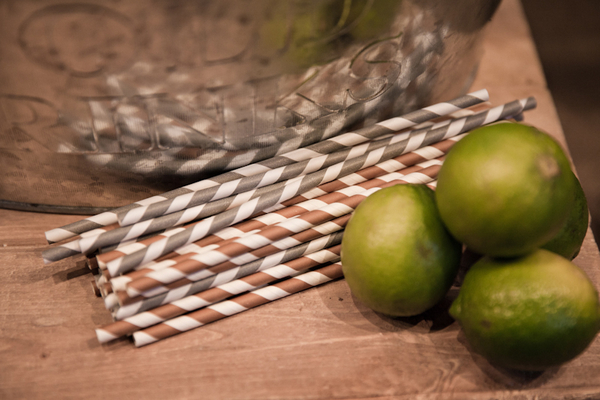 Straws and limes