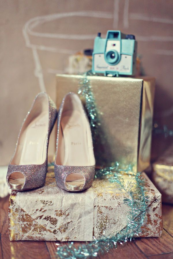 Shoes and presents