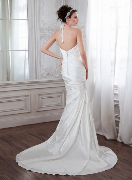 Back of Aideen Wedding Dress - Maggie Sottero Spring 2015 Bridal Collection