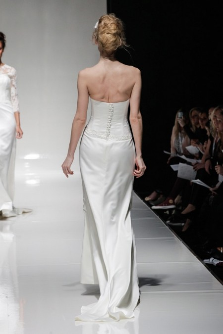 Back of Angelina Wedding Dress - Alan Hannah Floral Symphony 2015 Bridal Collection