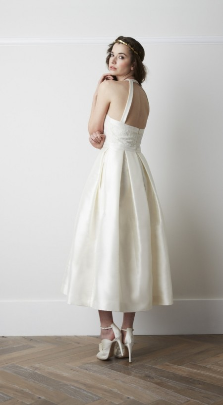Back of Arlette Wedding Dress - Charlie Brear 2015 Bridal Collection