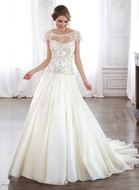 Ashton Wedding Dress - Maggie Sottero Spring 2015 Bridal Collection