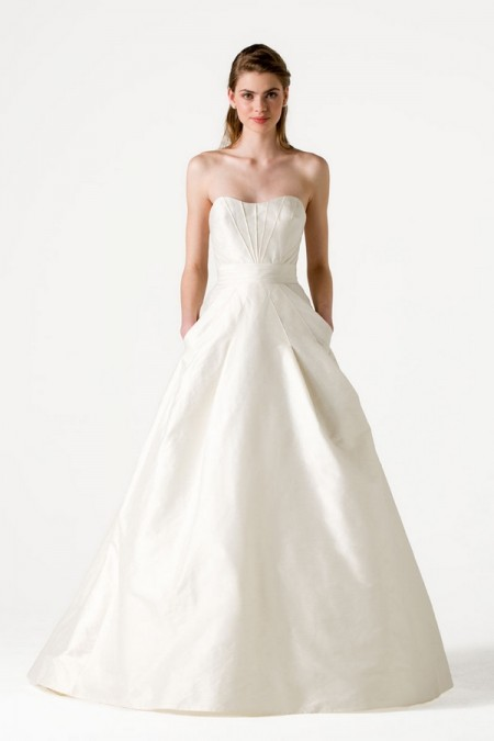Aspen Wedding Dress - Anne Barge Blue Willow Bride Spring 2015 Bridal Collection