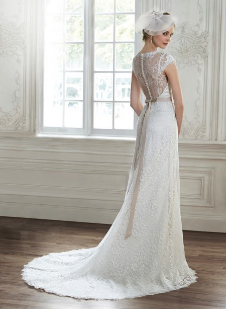 Back of Audrianna Wedding Dress - Maggie Sottero Spring 2015 Bridal Collection