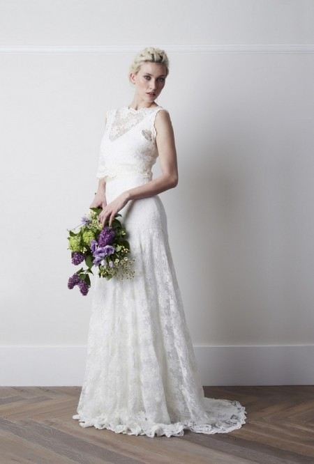 Augustine Wedding Dress - Charlie Brear 2015 Bridal Collection