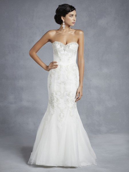 BT15-23 Wedding Dress - Beautiful by Enzoani 2015 Bridal Collection
