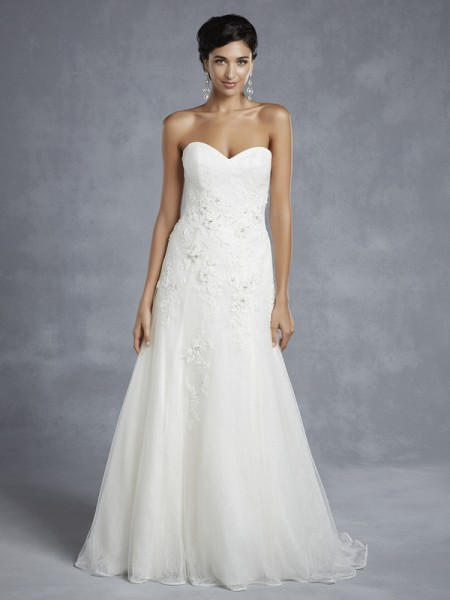 BT15-25 Wedding Dress - Beautiful by Enzoani 2015 Bridal Collection