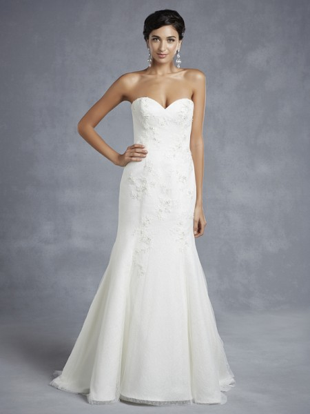 BT15-32 Wedding Dress - Beautiful by Enzoani 2015 Bridal Collection
