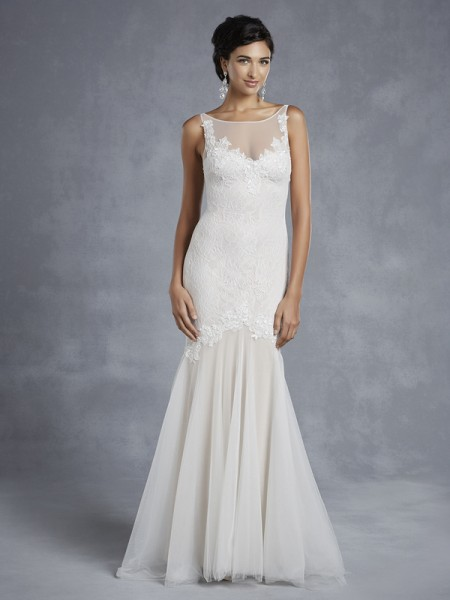 BT15-9 Wedding Dress - Beautiful by Enzoani 2015 Bridal Collection