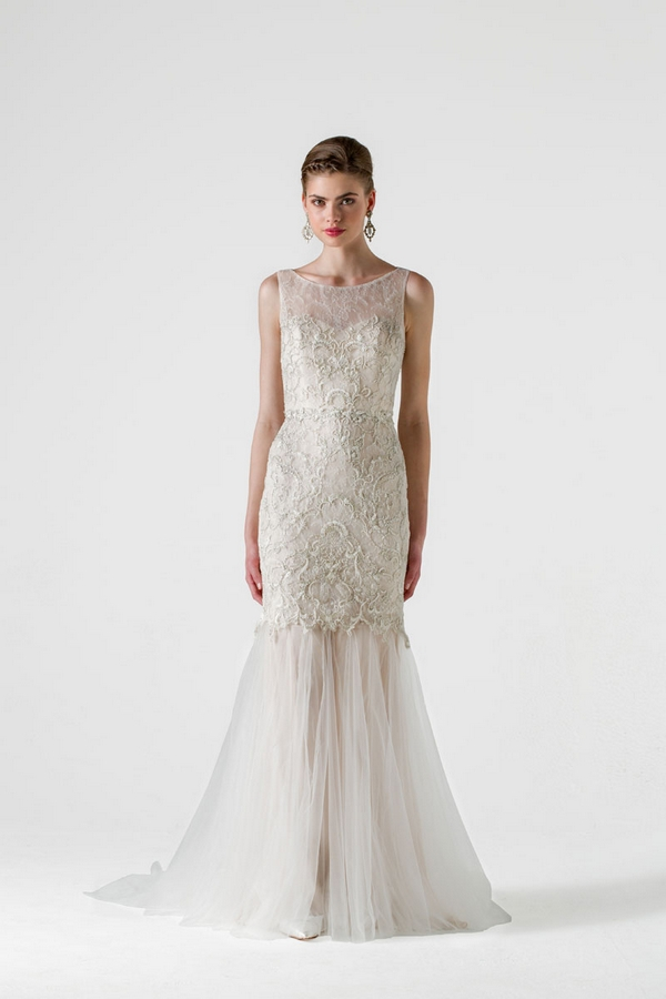 Bacall Wedding Dress - Anne Barge Black Label Spring 2015 Bridal Collection