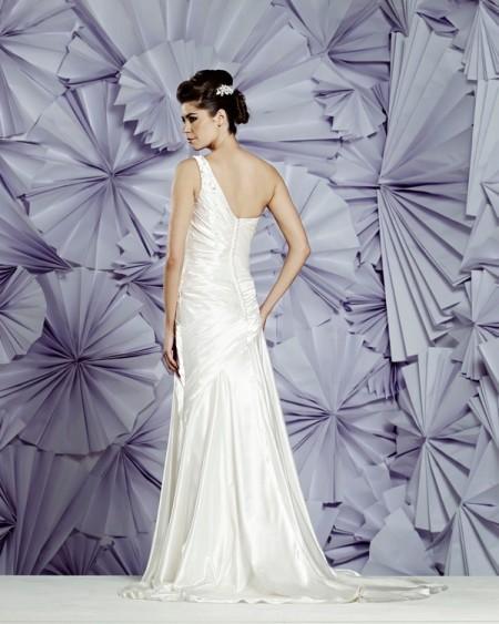 Back of Bergen Wedding Dress - Heritage Balbier-Wyatt 2015 Bridal Collection