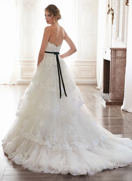 Back of Bettina Wedding Dress - Maggie Sottero Spring 2015 Bridal Collection