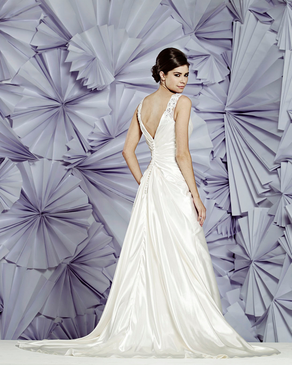 Back of Boston Wedding Dress - Heritage Balbier-Wyatt 2015 Bridal Collection