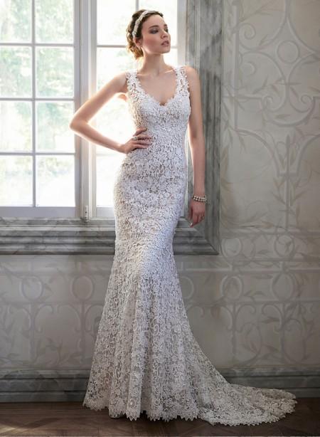 Breanna Wedding Dress - Maggie Sottero Spring 2015 Bridal Collection