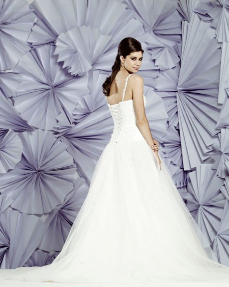 Back of Cannes Wedding Dress - Heritage Balbier-Wyatt 2015 Bridal Collection