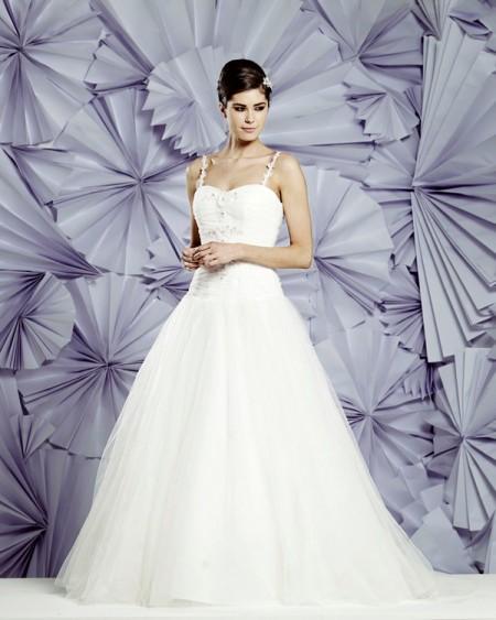 Cannes Wedding Dress - Heritage Balbier-Wyatt 2015 Bridal Collection
