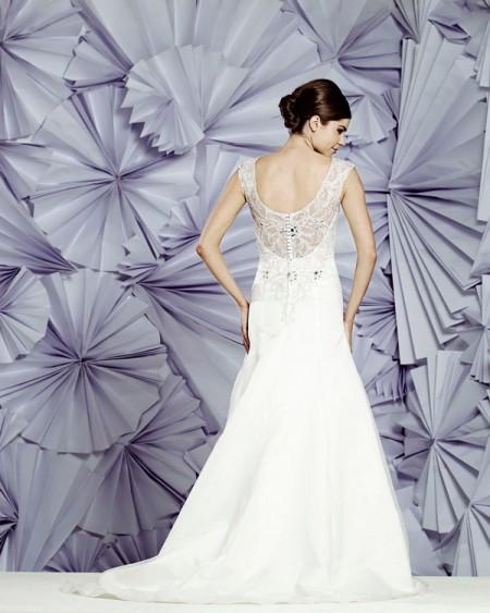 Back of Catalina Wedding Dress - Heritage Balbier-Wyatt 2015 Bridal Collection