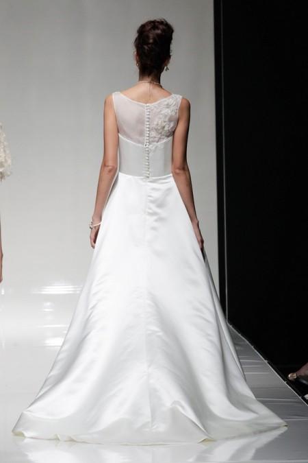 Back of Cecile Wedding Dress - Alan Hannah Floral Symphony 2015 Bridal Collection
