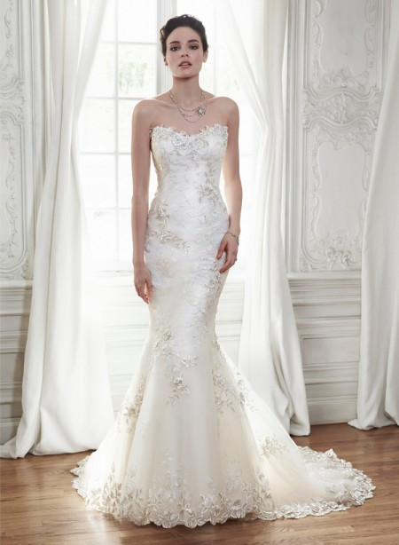 Chante Wedding Dress - Maggie Sottero Spring 2015 Bridal Collection
