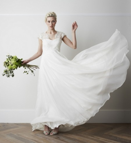 Chapelle Wedding Dress - Charlie Brear 2015 Bridal Collection