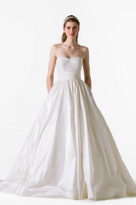 Charlotte Wedding Dress - Anne Barge Blue Willow Bride Spring 2015 Bridal Collection