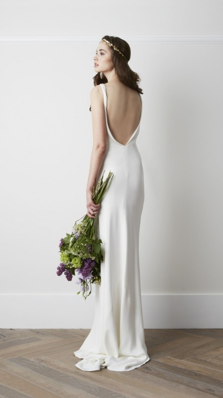 Back of Chartres Wedding Dress - Charlie Brear 2015 Bridal Collection