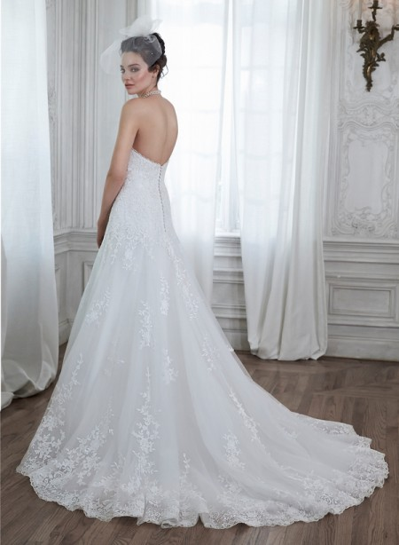 Back of Corrina Wedding Dress - Maggie Sottero Spring 2015 Bridal Collection