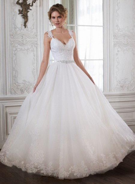 Crystal Wedding Dress - Maggie Sottero Spring 2015 Bridal Collection