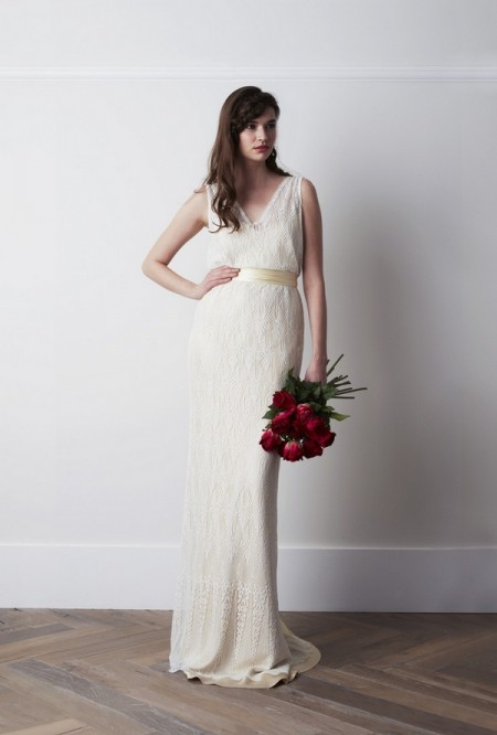 Deco Wedding Dress - Charlie Brear 2015 Bridal Collection