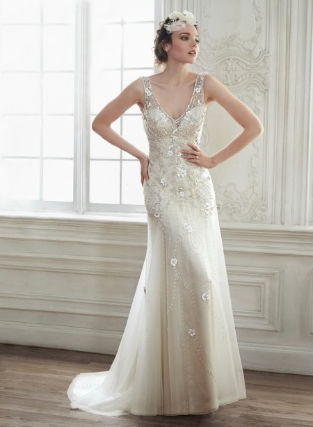 Demi Wedding Dress - Maggie Sottero Spring 2015 Bridal Collection