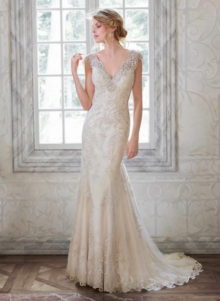 Elison Wedding Dress - Maggie Sottero Spring 2015 Bridal Collection