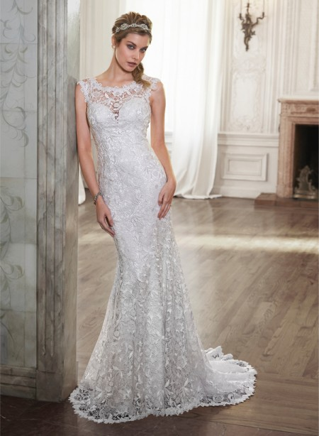 Ellis Wedding Dress - Maggie Sottero Spring 2015 Bridal Collection