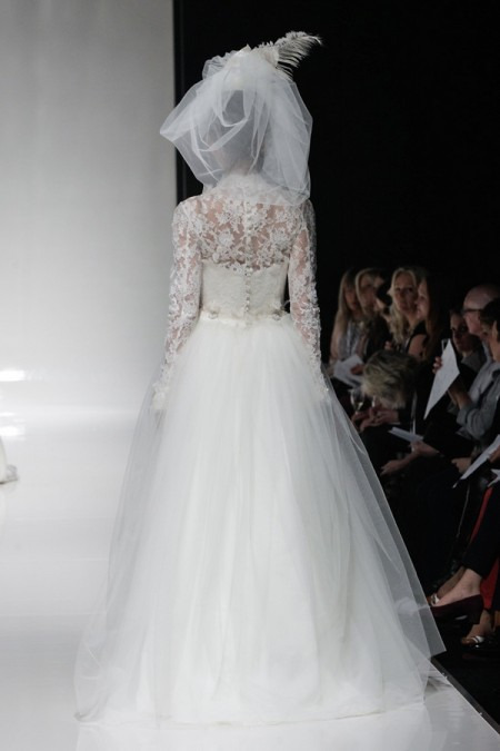 Back of Emily Wedding Dress - Alan Hannah Floral Symphony 2015 Bridal Collection