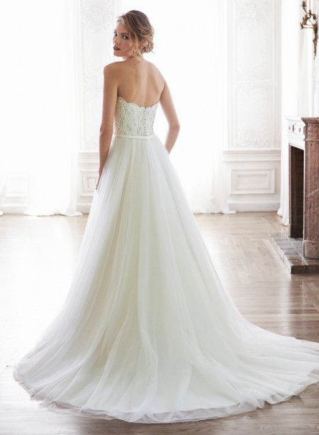 Back of Enza Wedding Dress - Maggie Sottero Spring 2015 Bridal Collection