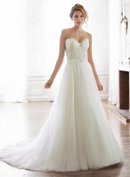 Enza Wedding Dress - Maggie Sottero Spring 2015 Bridal Collection