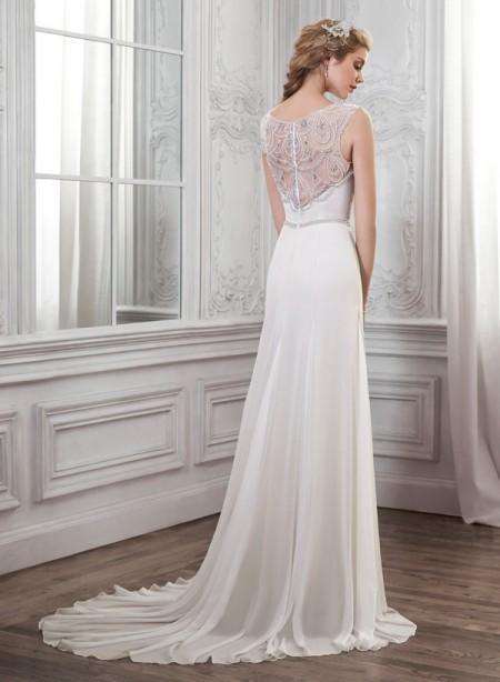 Back of Farah Wedding Dress - Maggie Sottero Spring 2015 Bridal Collection