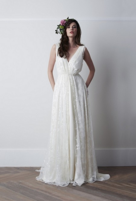 Fayette Wedding Dress - Charlie Brear 2015 Bridal Collection