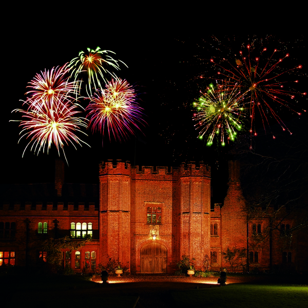 Fireworks Over Leez Priory