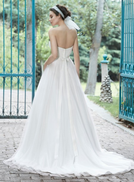Back of Florence Wedding Dress - Maggie Sottero Spring 2015 Bridal Collection