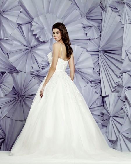 Back of Formosa Wedding Dress - Heritage Balbier-Wyatt 2015 Bridal Collection