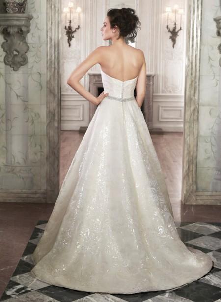 Back of Gavi Wedding Dress - Maggie Sottero Spring 2015 Bridal Collection