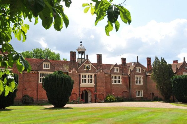 Gosfield Hall West Aspect