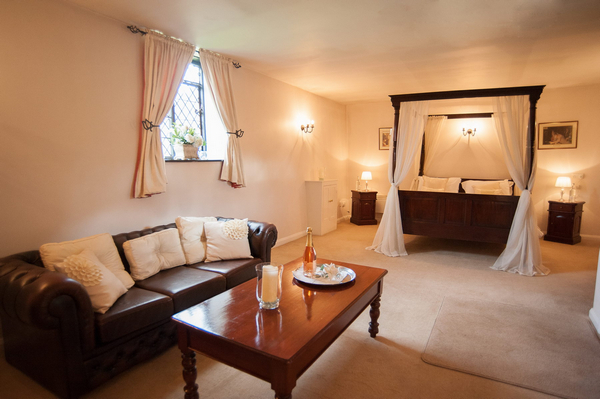 Granary Bridal Suite at Leez Priory
