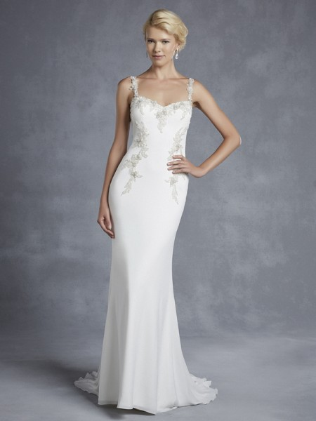 Hainsworth Wedding Dress - Blue by Enzoani 2015 Bridal Collection
