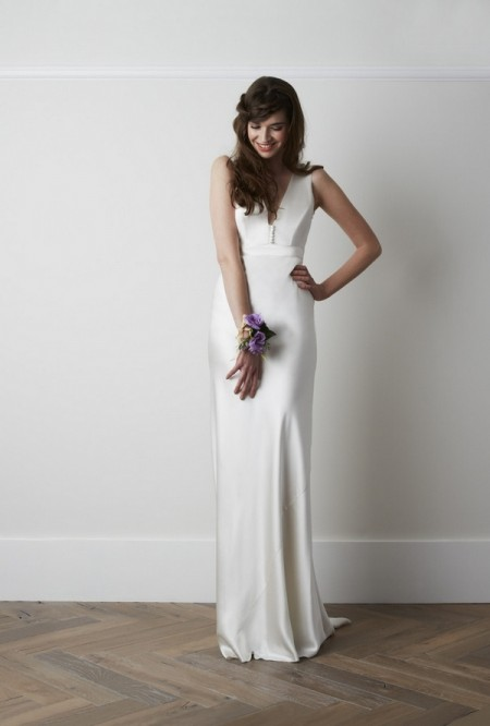 Haliton Wedding Dress - Charlie Brear 2015 Bridal Collection