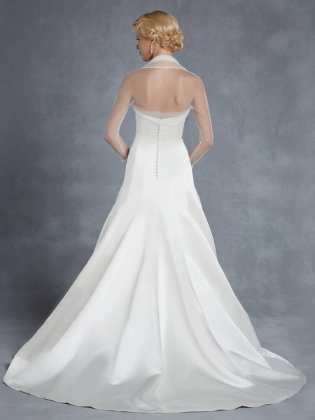 Back of Hannover Wedding Dress - Blue by Enzoani 2015 Bridal Collection